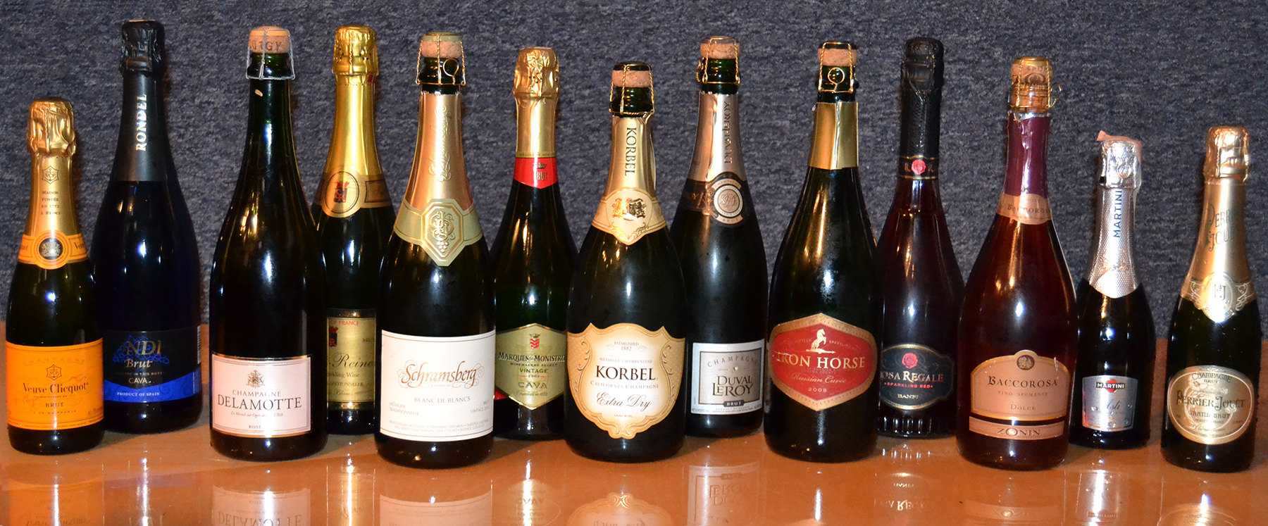 The Champagnes we are sampling