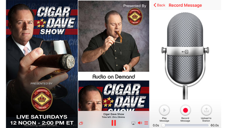 The NEW Cigar Dave Mobile App