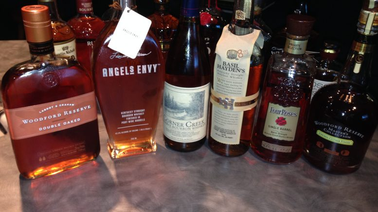 Bourbon Tasting Maneuvers 2013