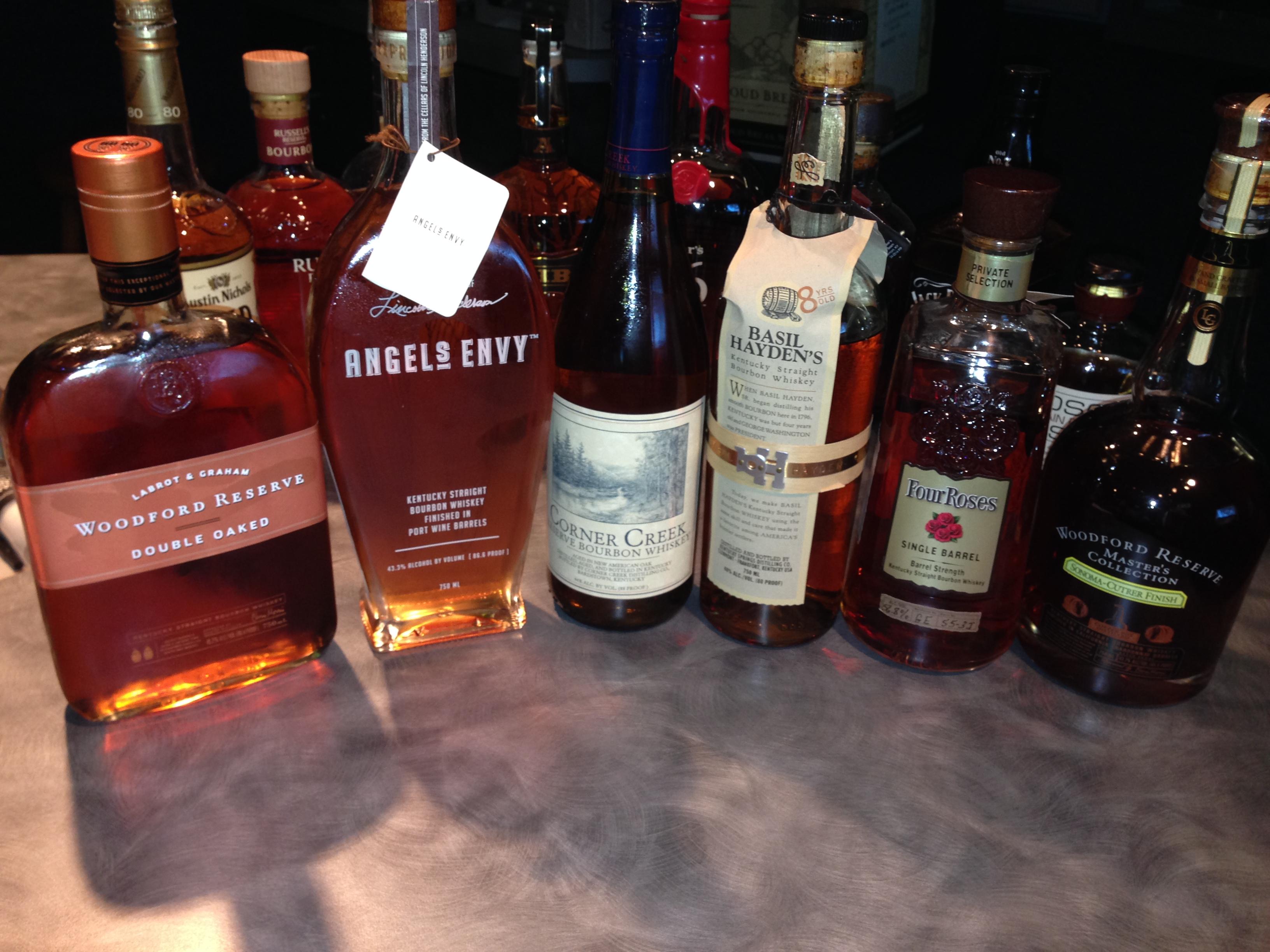 Bourbon Tasting Maneuvers 2013