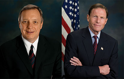 Enemies of Pleasure Dick Durbin and Dick Blumenthal