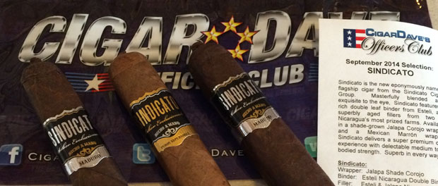 Sindicato Cigars is the Cigar Dave's Officers Club September 2014 Selection