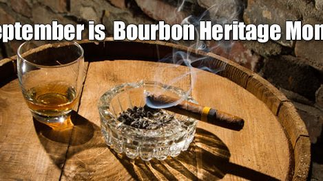 Bourbon Heritage Month Graphic