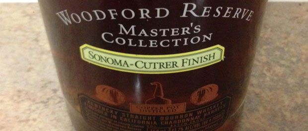 Woodford Reserve Masters Collection Sonoma-Cutrer Finish Bottle