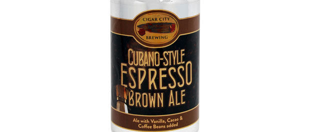 Cubano-Style Espresso Brown Ale by Cigar City Brewing