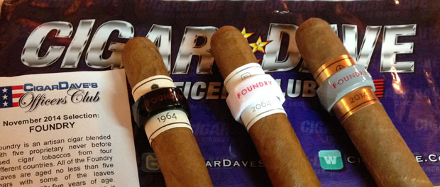 Foundry Cigars is November Officers Club Selection