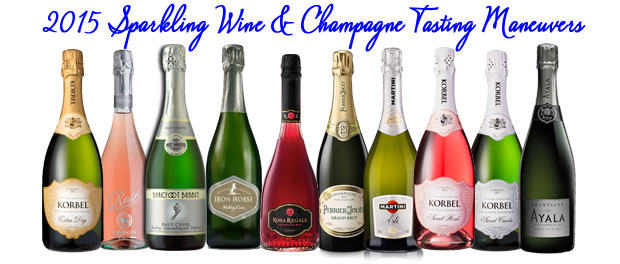 2015 Sparkling Wine and Champagne Tasting Maneuvers