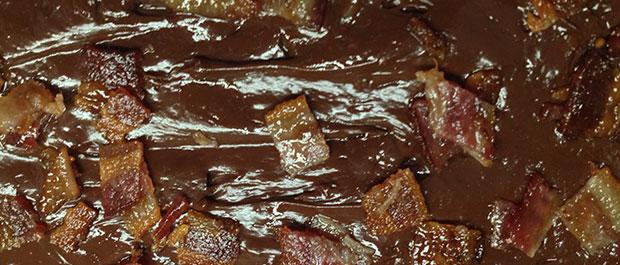 Chipotle Bacon Fudge