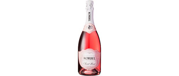 Korbel Sweet Rosé Bottle