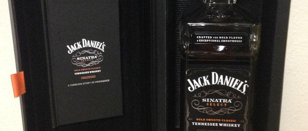 Jack Daniels Sinatra Select Bottle