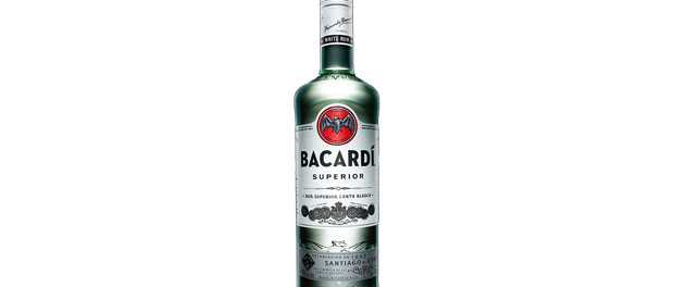 Bacardi Superior Bottle