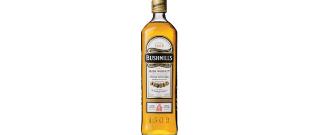 Bushmills Irish Whiskey Bottle