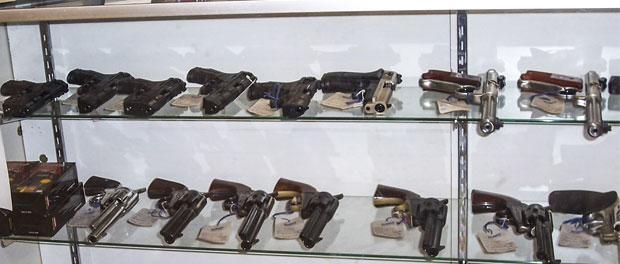 Gun Store Display Cabinet
