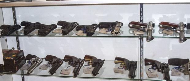 Gun Store Display Cabinet