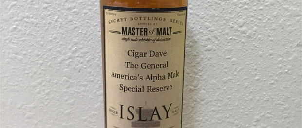 Master of Malt Single Islay Malt Bottle