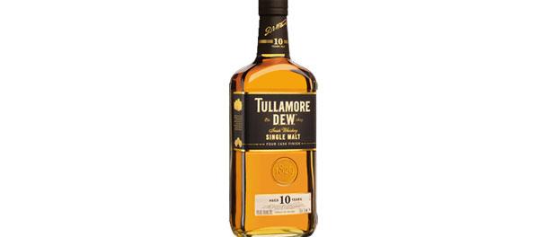 Tullamore D.E.W. 10 Year Single Malt Irish Whiskey