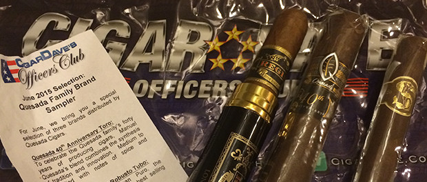 Quesada Family of Brands Sampler Cigars