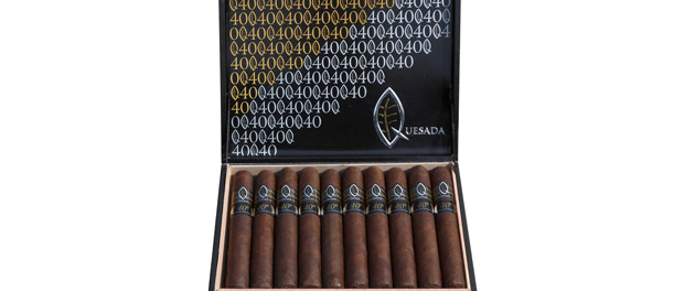 Quesada 40th Anniversary Cigar Box