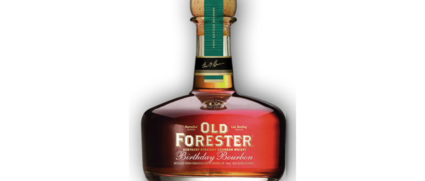 Old Forester Birthday Bourbon Bottle