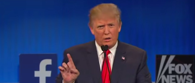 Donald Trump Debate Screen Shot