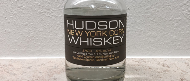 Hudson New York Corn Whiskey Featured Bottle
