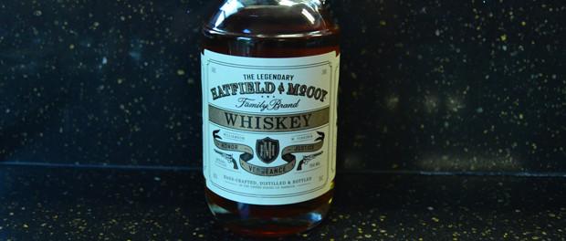 Hatfield & McCoy Whiskey Bottle