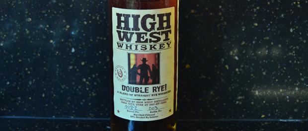 High West Double Rye Bottle