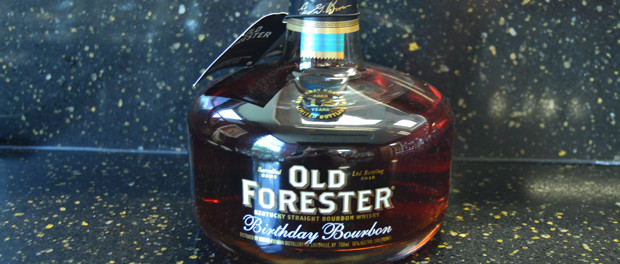 Old Forester 2015 Birthday Bourbon Bottle