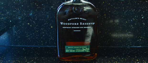 Woodford Reserve Kentucky Straight Rye Whiskey Bottle