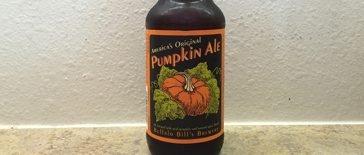 America's Original Pumpkin Ale by Buffalo Bill's Brewery