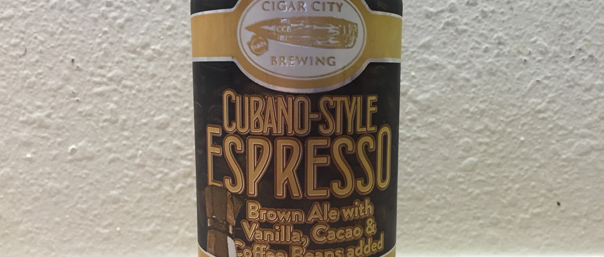 Cigar City Brewing Espresso Can