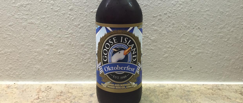Goose Island Oktoberfest Beer Bottle