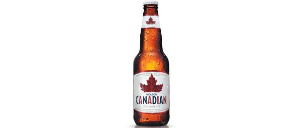 Molson Canadian Beer Bottle