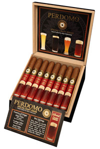 Perdomo Craft Series Amber Cigars in box