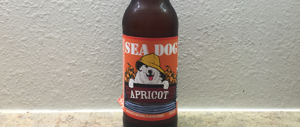 Sea Dog Brewery Apricot Beer Bottle