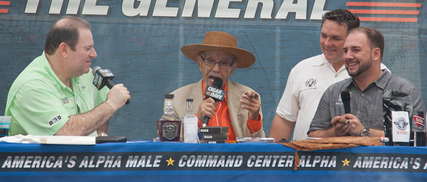 Avo Uvezian joined Cigar Dave at the 2015 Alpha Pleasurefest at the 'Rock