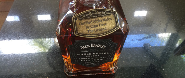 Jack Daniels Cigar Dave Single Barrel Select