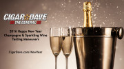 Cigar Dave's 2016 Happy New Year Champagne & Sparkling Wine Tasting Maneuvers