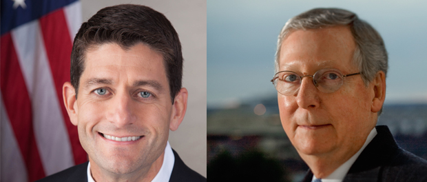Contact Paul Ryan and Mitch McConnell