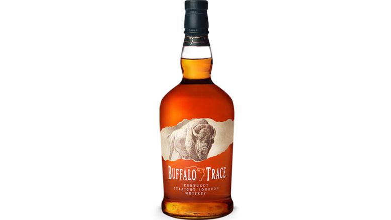 Buffalo Trace Kentucky Straight Bourbon Whiskey Bottle