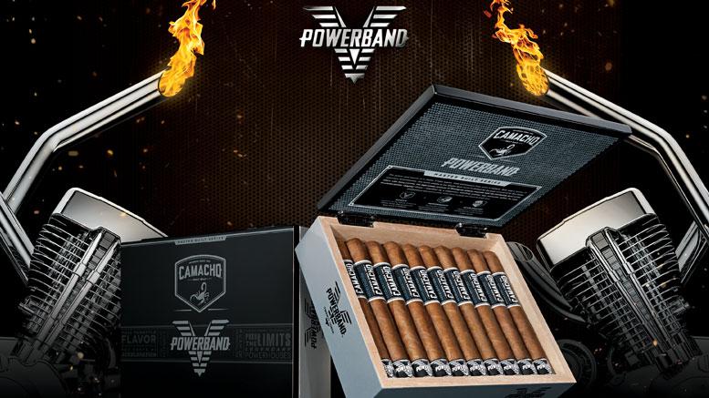 Camacho Powerband Box and Cigar