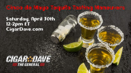 Cinco de Mayo Tequila Tasting Maneuvers