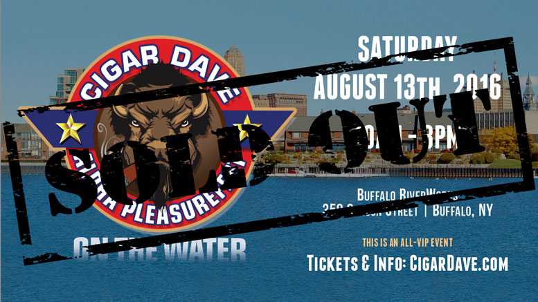 Cigar Dave's Alpha PleasureFest on the Water is now SOLD OUT