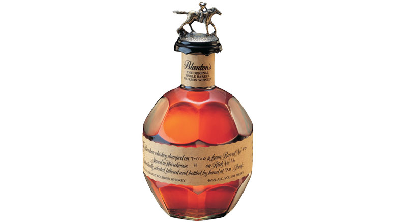 Blanton's Original Single Barrel Bourbon Bottle