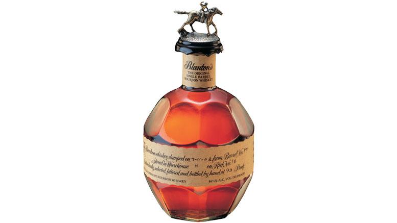 Blanton's Original Single Barrel Bourbon Bottle