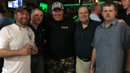 Cigar Dave with Guests on Memorial Day 2016