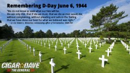 Remembering D-Day Cemetery in France