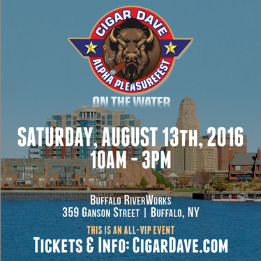 Cigar Dave Alpha Pleasurefest on the Water presented by Rocky Patel Premium Cigars