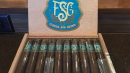 Florida Sun Grown Cigars in open box