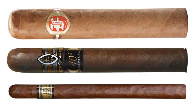 Cigar Dave Officers Club Selections for June 2016 - Quesada 40th Anniversary, Fonseca Cubano Limitado, and Fonseca Classic